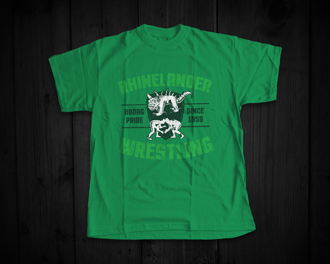 Hodags Wrestling Shirt