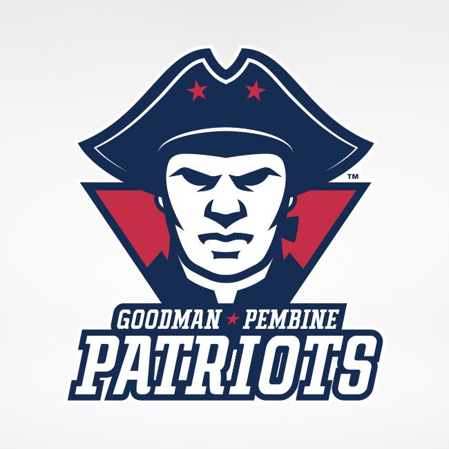 Goodman-Pembine Patriots Logo 3